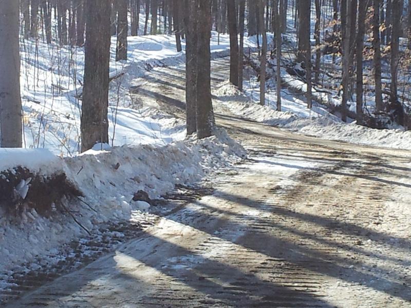 Braeburn Estate road construction